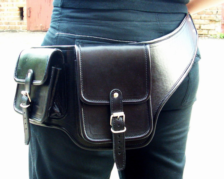 как сшить сумку из джинсов с клапаном