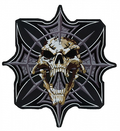 Gothic Scull And Cross