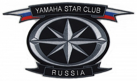 нашивка YAMAHA STAR CLUB